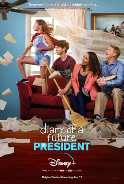 Diary of a Future President Movie Poster for Disney Plus