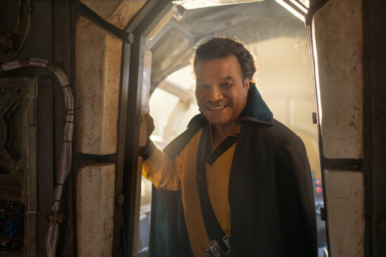 Billy Dee Williams as Lando
