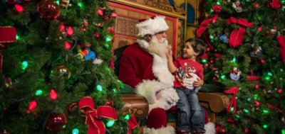 Santa Disney Springs