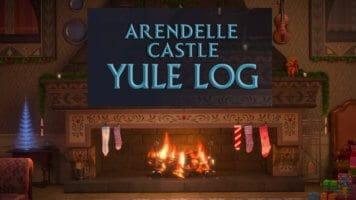Arendelle Yule Log