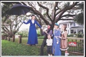 Cindy Simmons Mary Poppins Christmas Card