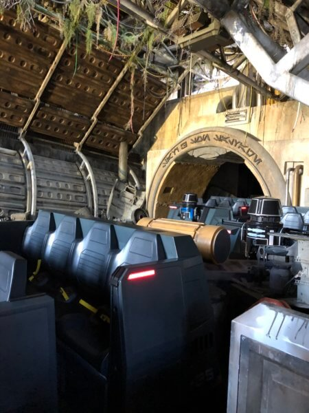Rise of the Resistance Ride Vehicles