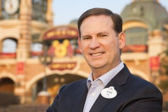 Joe Schott, President and General Manager Shanghai Disney Resort