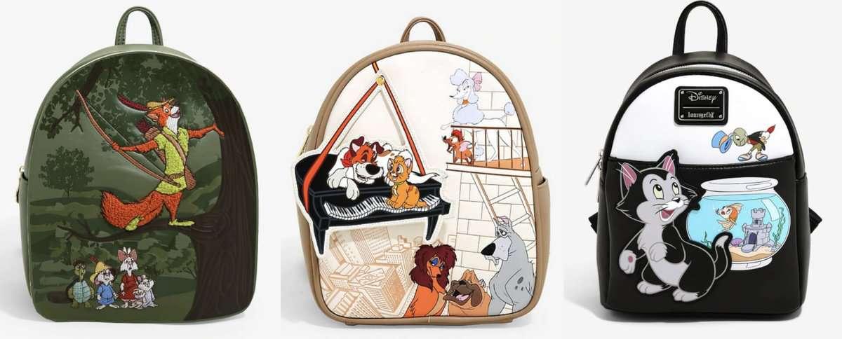 Mini purses by Disney Loungefly