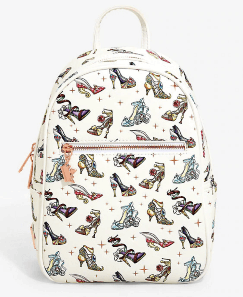 Disney Princess Shoes Loungefly Mini Backpack