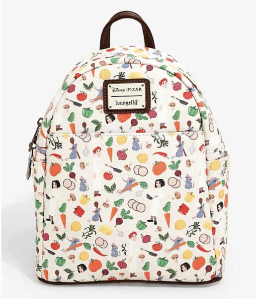 Ratatouille Loungefly Disney Mini Backpack