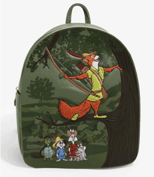 Robin Hood Loungefly Disney Mini Backpack