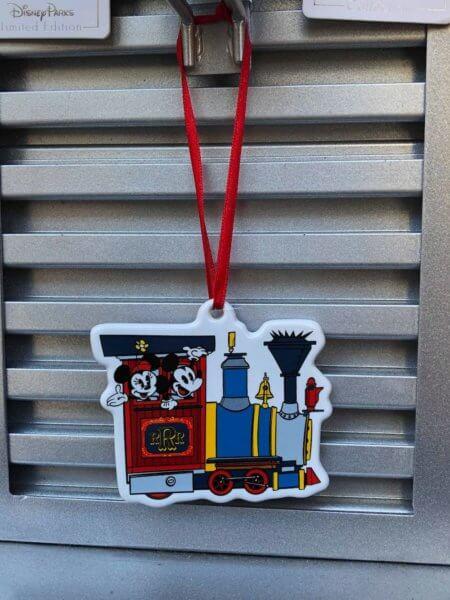 Mickey and Minnie's Runaway Railway Merchandise Christmas Ornament