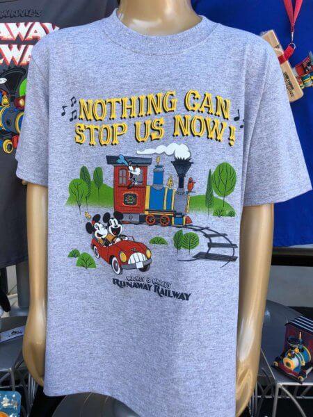 Mickey and Minnie's Runaway Railway Merchandise Unisex T