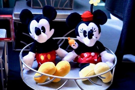 Mickey and Minnie's Runaway Railway Merchandise Plushes