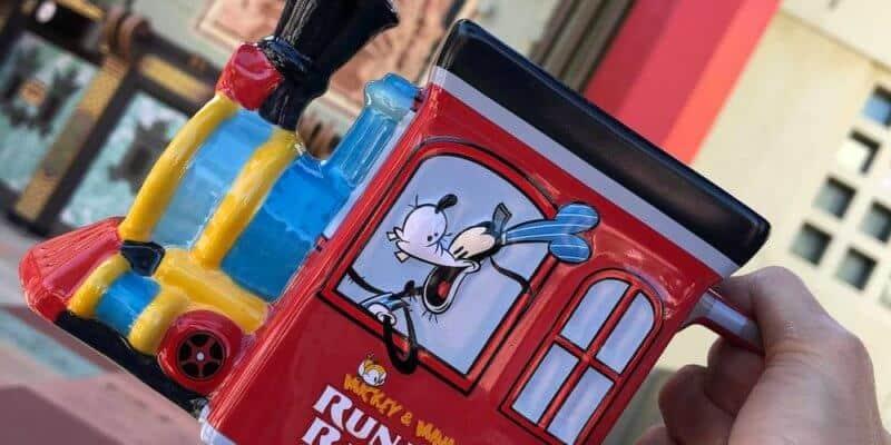 Mickey and Minnie's Runaway Railway Merchandise Goofy Train Coffee Mug