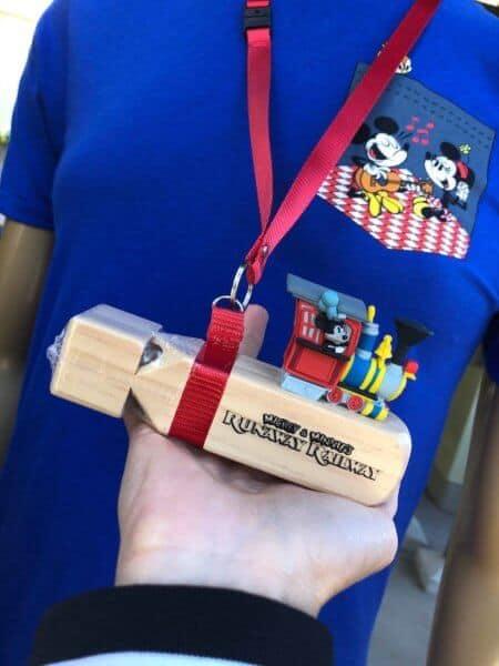 Mickey and Minnie's Runaway Railway Merchandise Train Whistle Prop