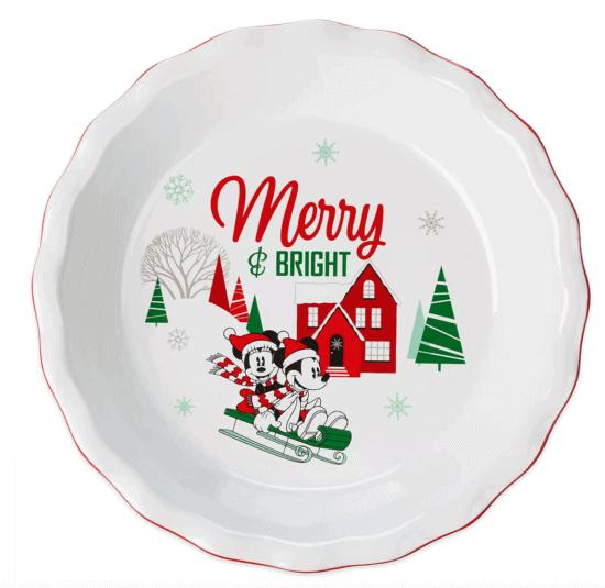 Mickey Pie Dish