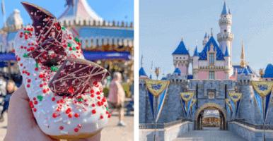 Peppermint Donut Disneyland