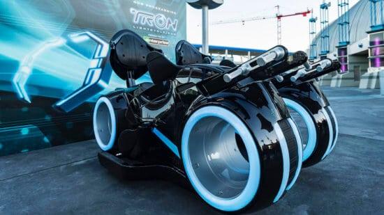 Tron Lightcycle Rider Seat in Magic Kingdom now testing
