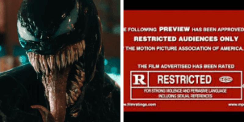 venom rated r