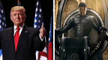 trump and black panther