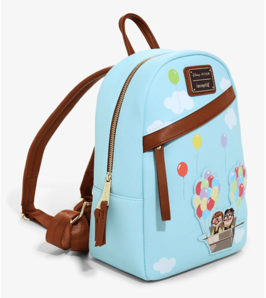 Up kid Carl and Ellie Loungefly Disney Mini Backpack