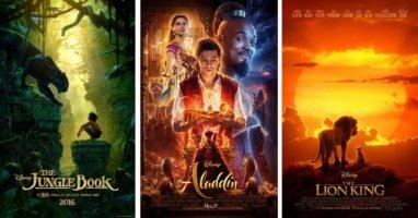 Live Action Disney Films