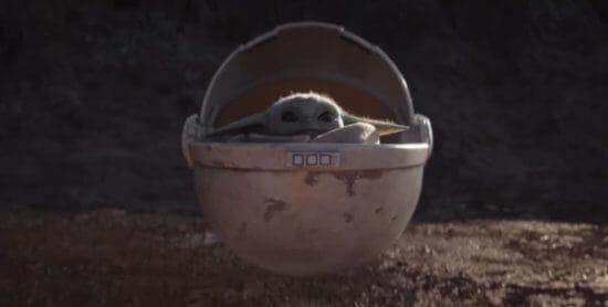Baby Yoda Wins the We crib