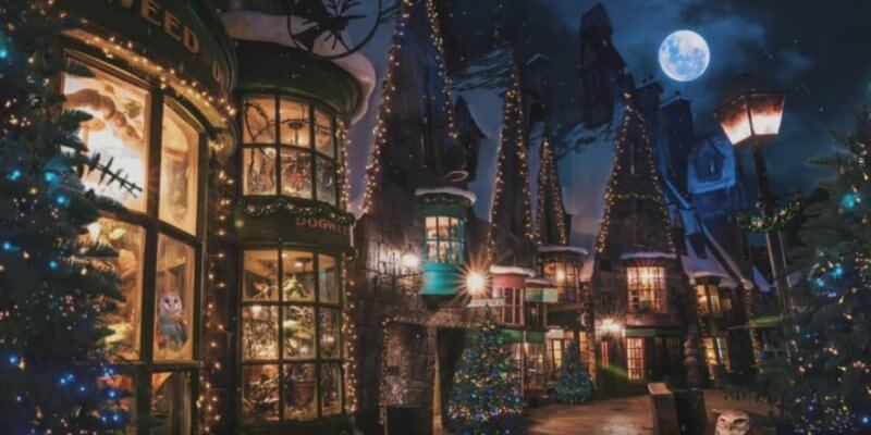 Potter inspired holiday settings Cover