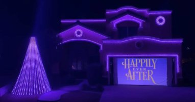 happily ever after christmas light show