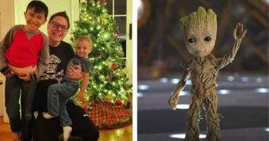 James Gunn Christmas Tree