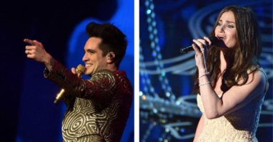 Menzel and Panic! at the Disco