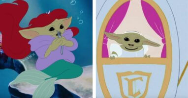 Baby Yoda Princesses