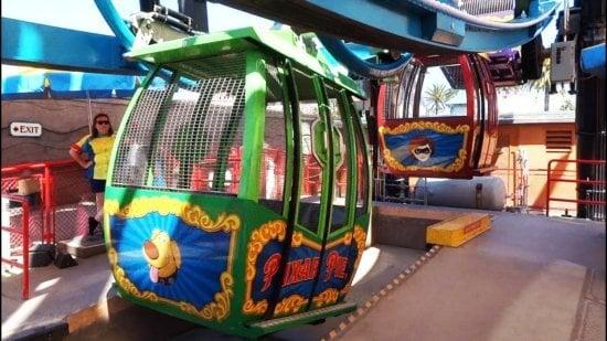 Gondolas of Pixar Pal-A-Round