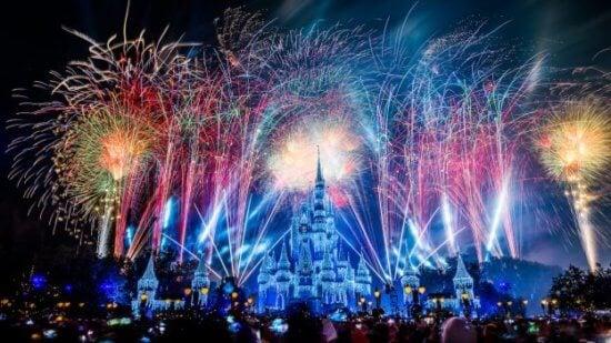 disney world new year fireworks