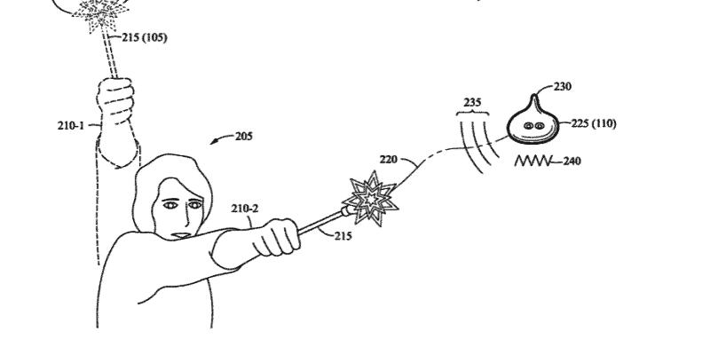 disney interactive device patent