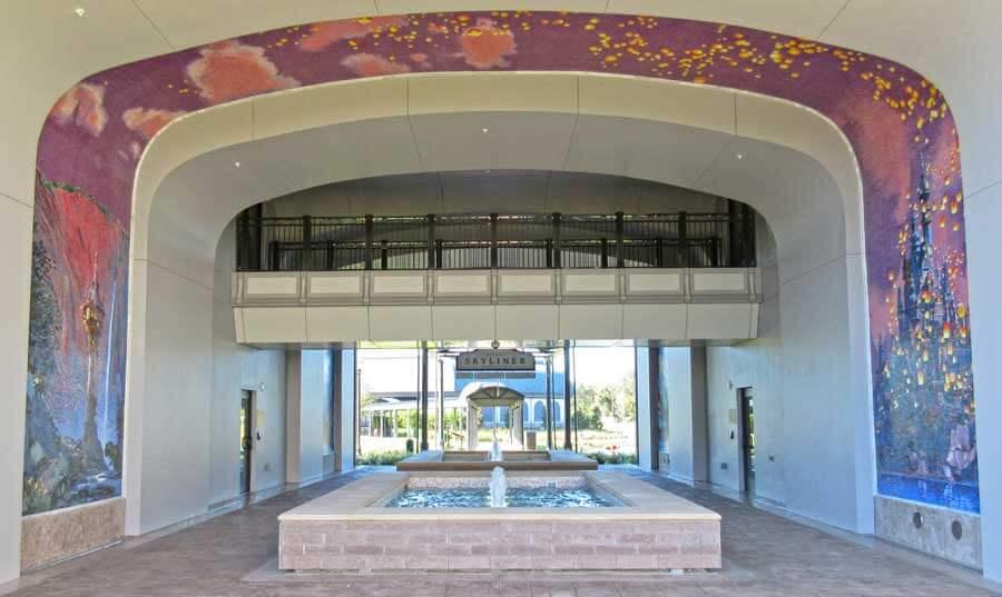 Disney's Riviera Resort Skyliner Station