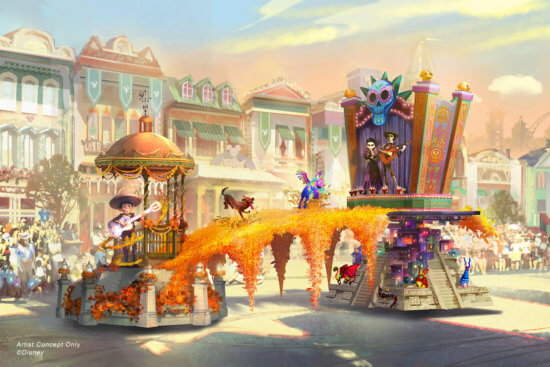 coco magic happens parade