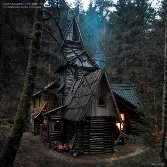 jack skellington tiny house