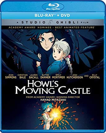 Howl's Moving Castle Blu-Ray Cover