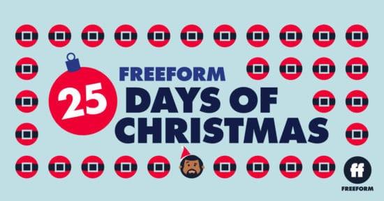 Freeform's 25 Days of Christmas Logo