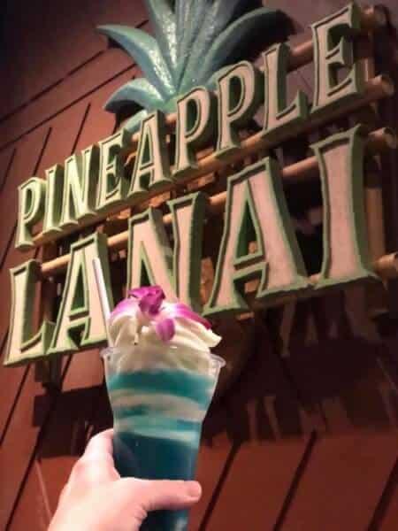 The Blue Hawaiian Dole Whip Float