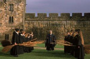 harry potter experience alnwick castle