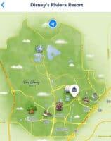 Disney's Riviera Resort Map