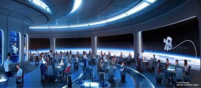 Space 220 Restaurant Epcot Opening