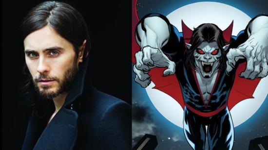 Jared Leto and Morbius