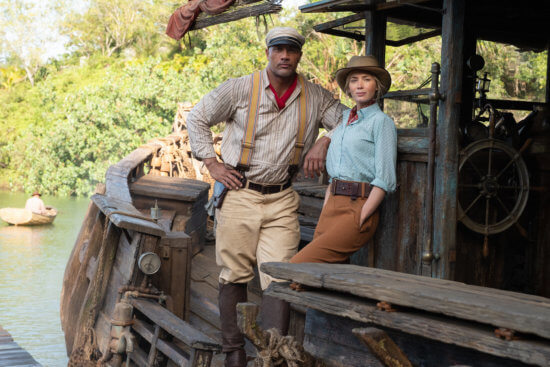 """Dwayne Johnson and Emily Blunt, """"The Jungle Cruise"""""""