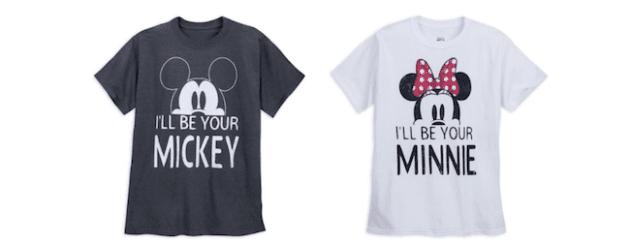 matching disney couples shirts