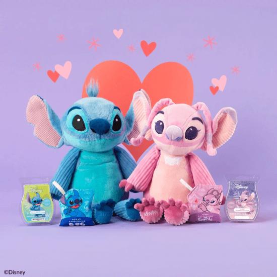Stitch and Angel Scentsy Buddy
