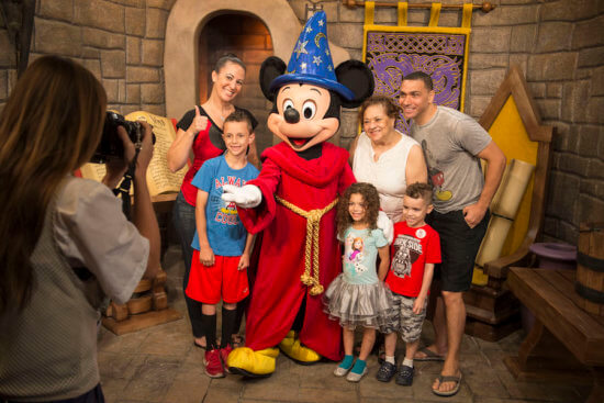 Mickey Mouse sorcerer outfit