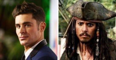 Zac Efron Jack Sparrow