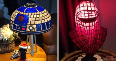 Star Wars Tiffany Style Lamps