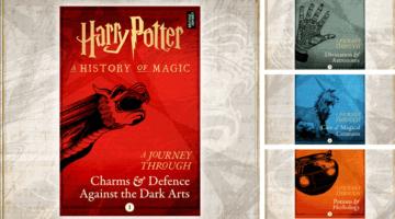 j.k. rowling harry potter history of magic