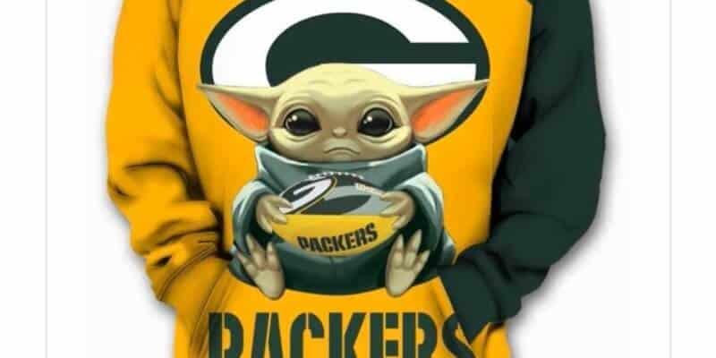baby yoda green bay packers